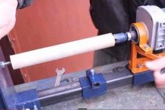 Комбинированный самодельный токарно-сверлильный станок из дрели