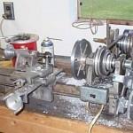Самодельный токарный станок по обработке металлических заготовок