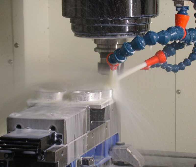 Использование СОЖ на водной основе при фрезеровании