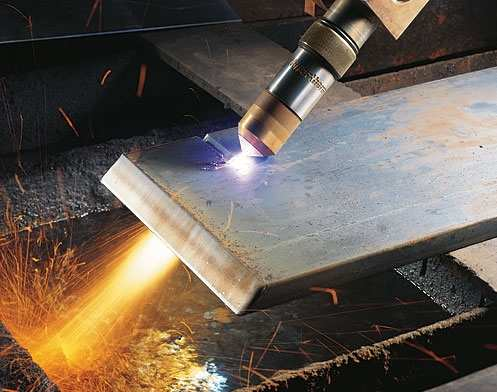 Процесс плазменной резки металла