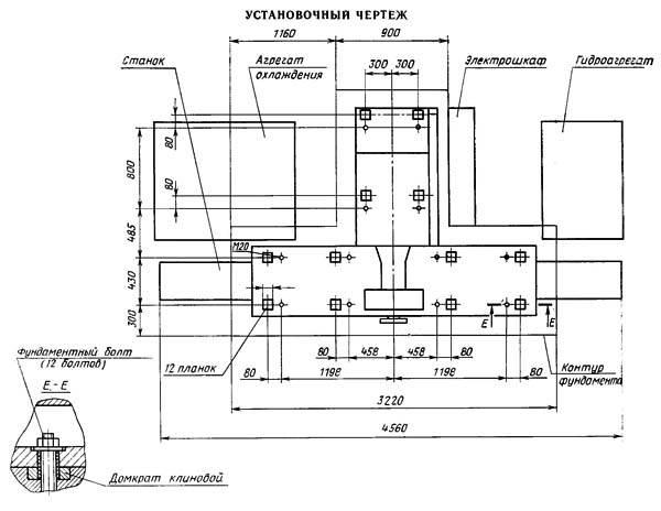 Плоскошлифовальный станок 3Л722В технические характеристики, паспорт, ремонт
