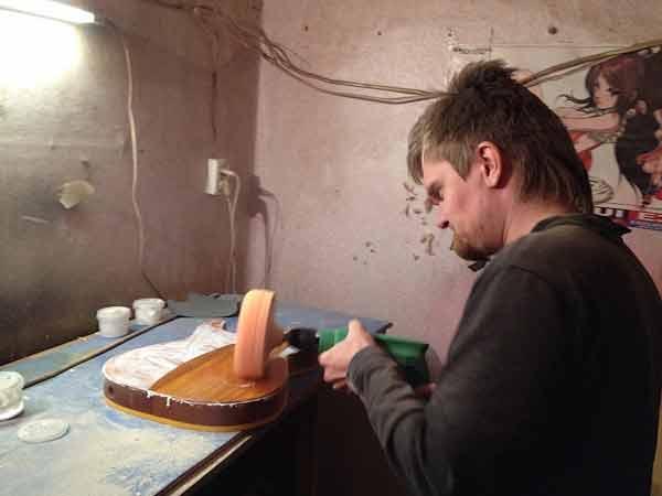 Шлифовка изделий из дерева