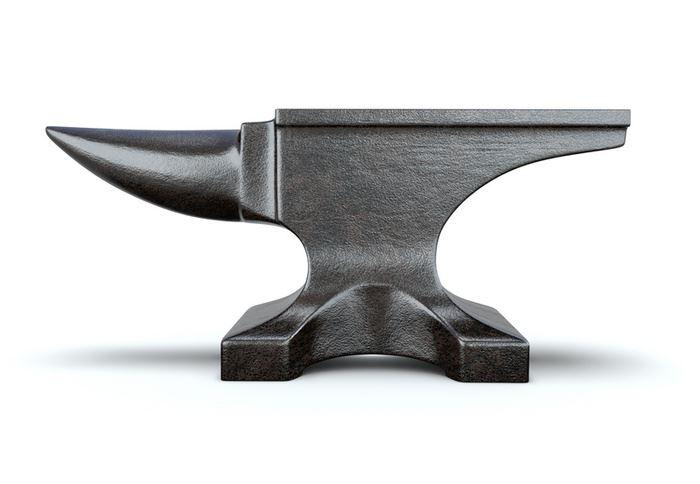 Кузнечные наковальни виды, конструкции, изготовление