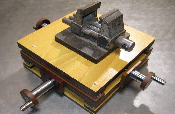 Самодельный координатный стол