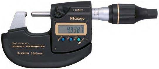 Высокоточный гладкий электронный цифровой микрометр Mitutoyo Digimatic серия 293