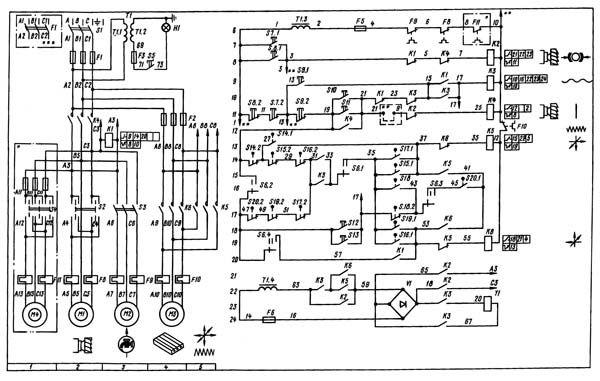 Вертикально-фрезерный станок 6Р12 технические характеристики