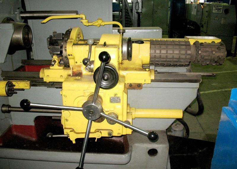 Модель токарно-револьверного станка 1341