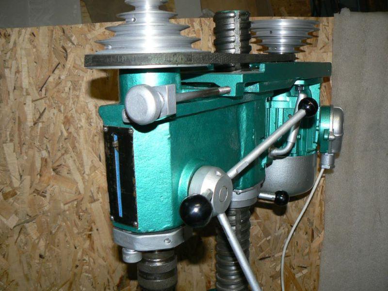 ременная передача настольно-сверлильного станка 2М112