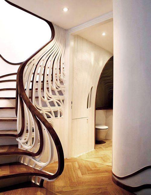 Кованые перила (50 фото) ограждения для лестниц, крыльца, балкона
