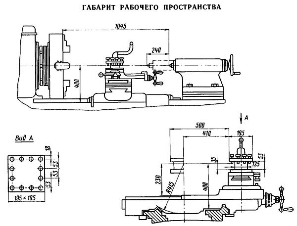 Трубонарезной станок 1Н983 технические характеристики, паспорт, устройство
