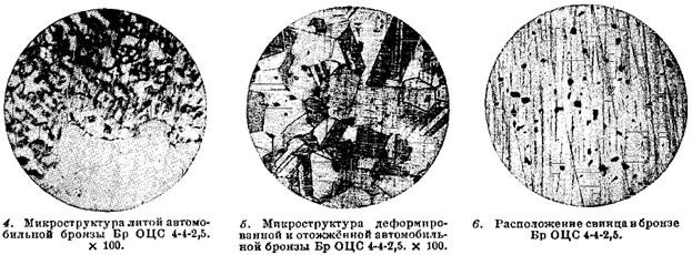 Микроструктура бронзы