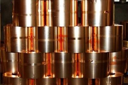 Лента бериллиевой бронзы БрБ2
