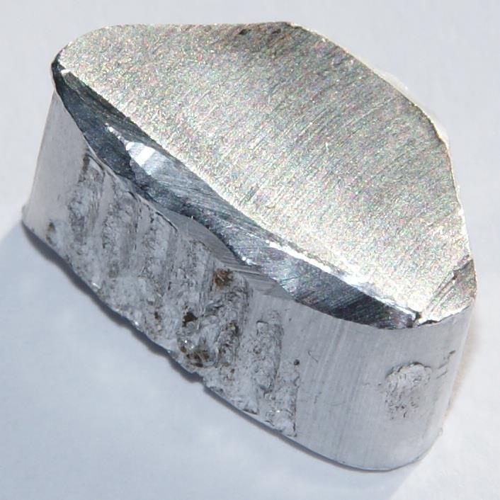 Внешний вид алюминия