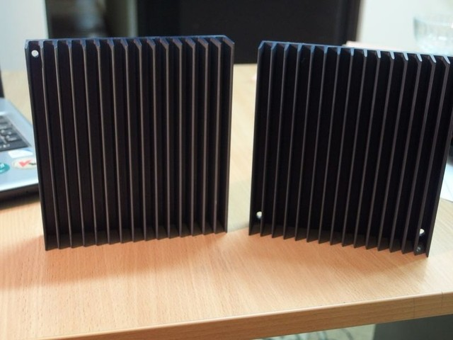 Черное анодирование алюминия