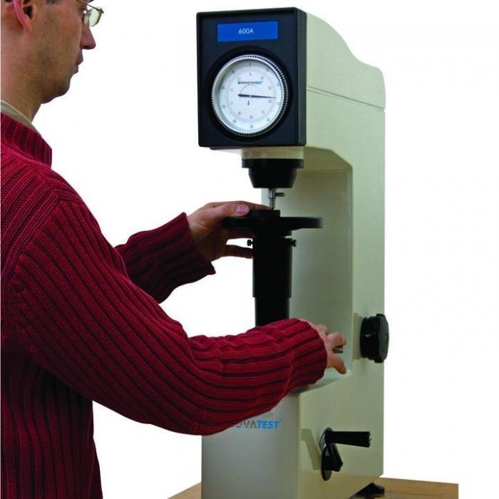 Измерение твердости по Роквеллу HRC методика, единицы измерения