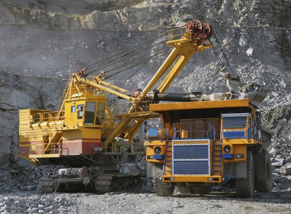 Добыча руды черных металлов