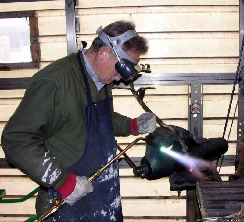 Выполнение газопламенных работ