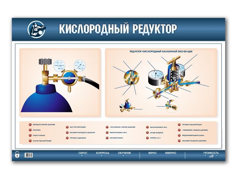Кислородный редуктор особенности устройства