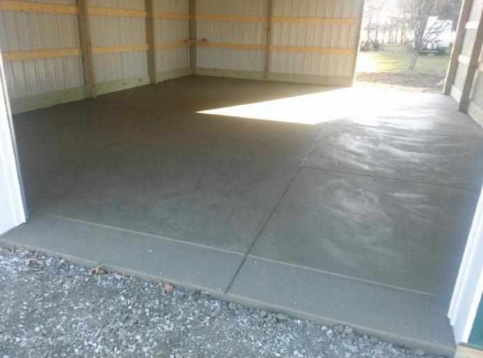 Литой бетон