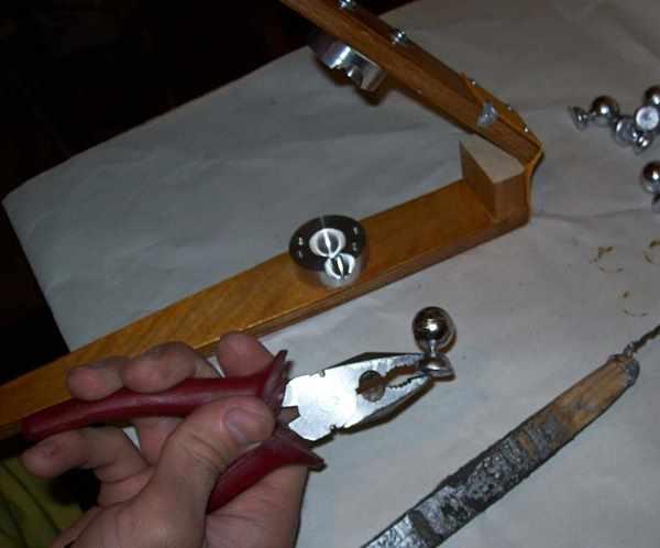 Инструменты для литья из олова