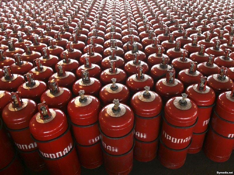 Газ в баллоне