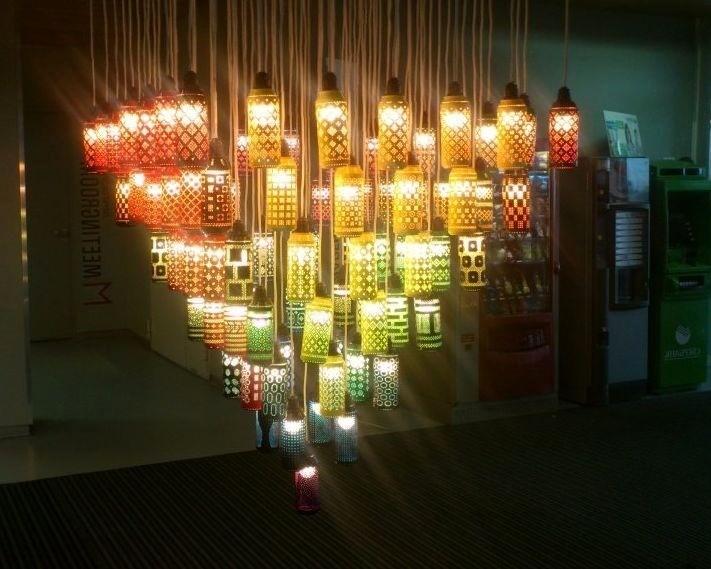 Жестяные светильники