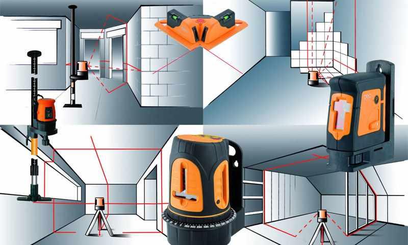 Лазерный дальномер для работы в помещениях