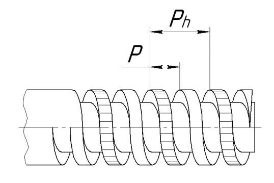 Метрическая резьба шаг, диаметр, обозначение, ГОСТ