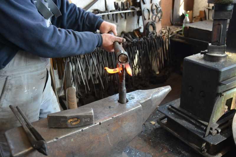 Оборудование для горячей ковки
