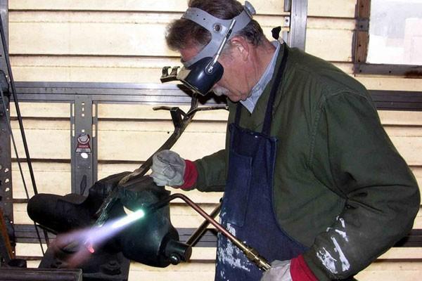 Процесс сварки в газовой атмосфере