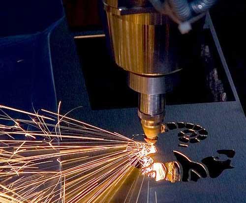 Лазерный способ раскроя применяют для получения сложных контуров