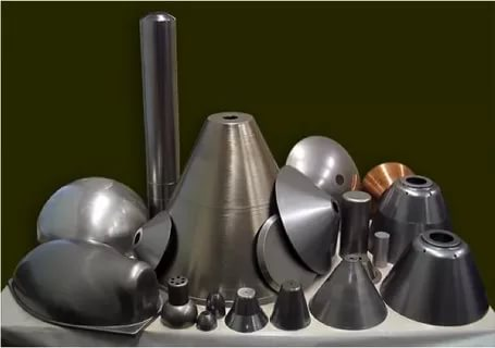 Изделия изготовленные путем ротационной вытяжки