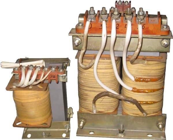Трехфазный сварочный трансформатор
