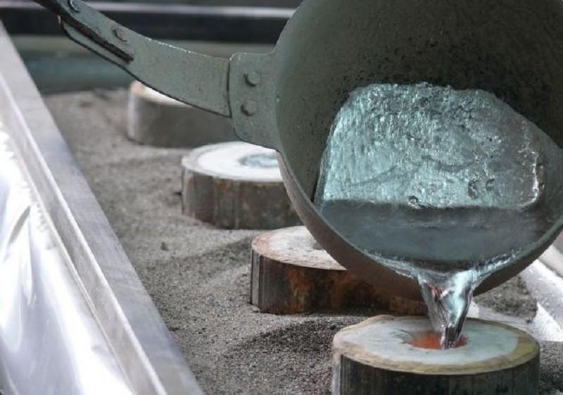 Алюминиевый расплав