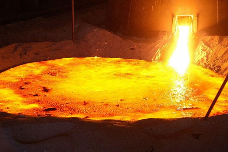 Плавление стали