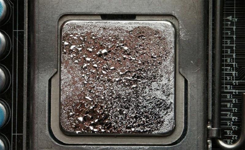 Жидкий металл для процессоров