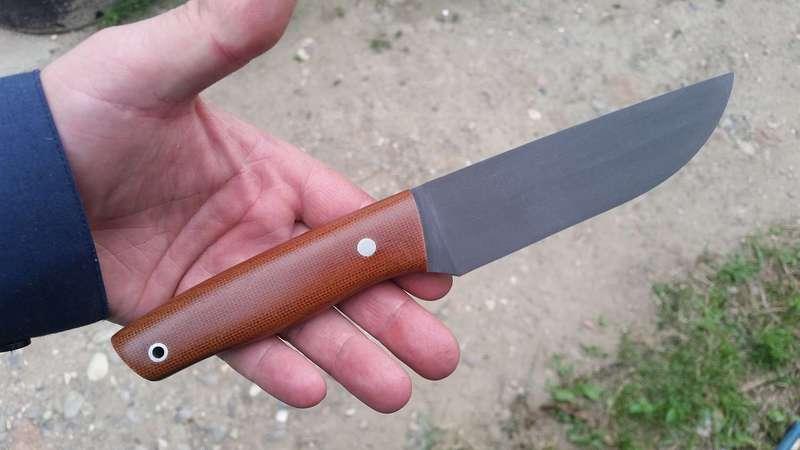 Нож из стали Р6М5