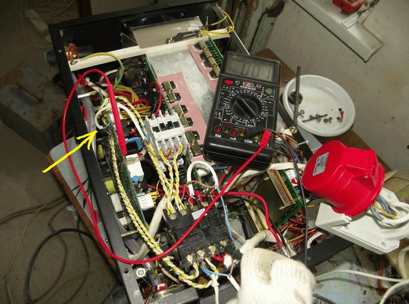 Сварочный инвертор однофазного типа