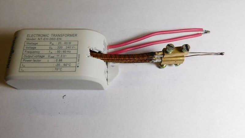 Импульсный паяльник на основе трансформатора