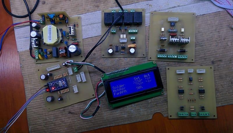 Инфракрасная паяльная станция своими руками на основе Arduino