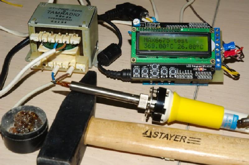 Инструменты для изготовления инфракрасного паяльника