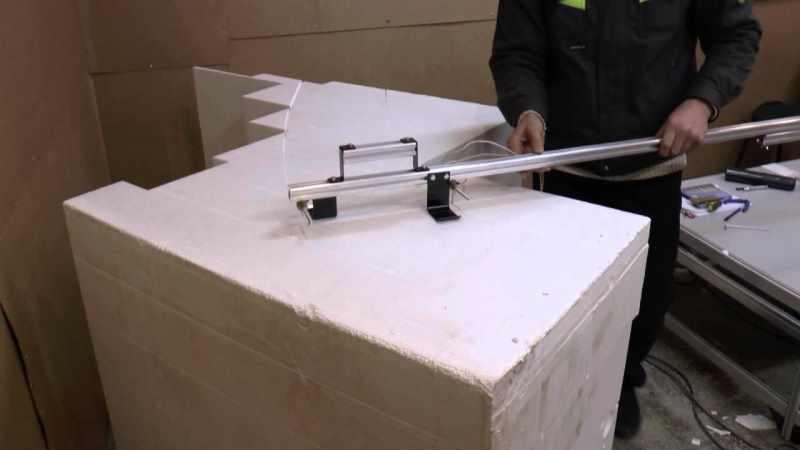 Ручной станок для фигурной резки пенопласта