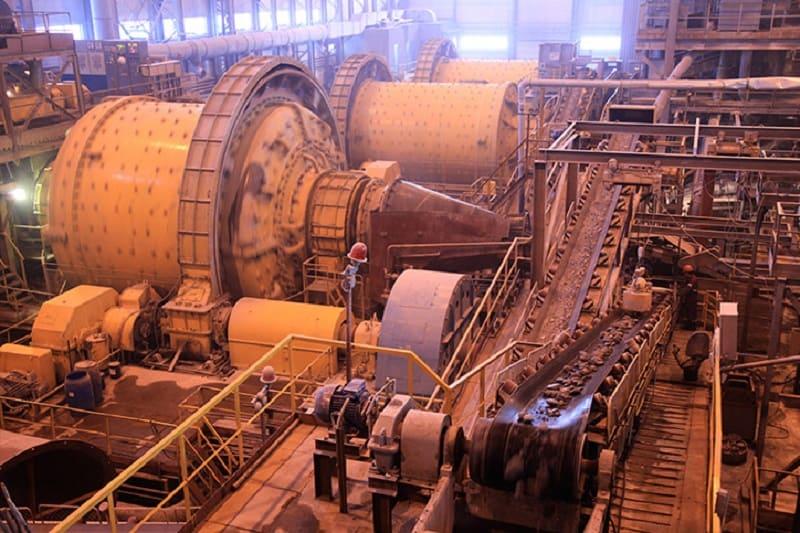 Переработка металлической руды