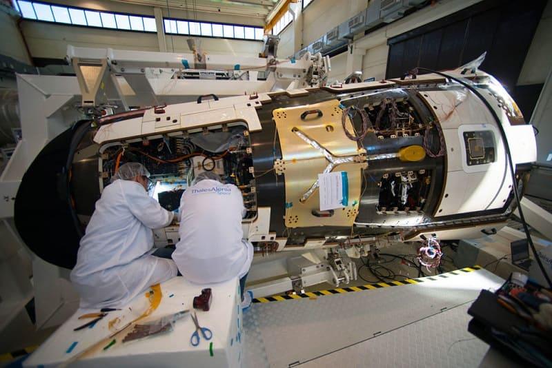 Применение вольфрама в космической промышленности