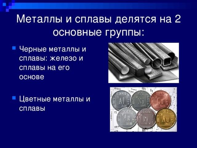 Доклад про сплавы металлов 5490