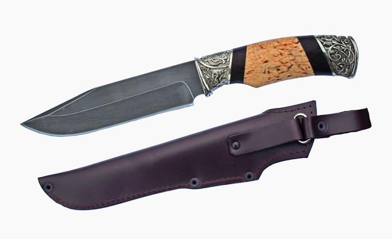 Охотничий нож из стали Р18