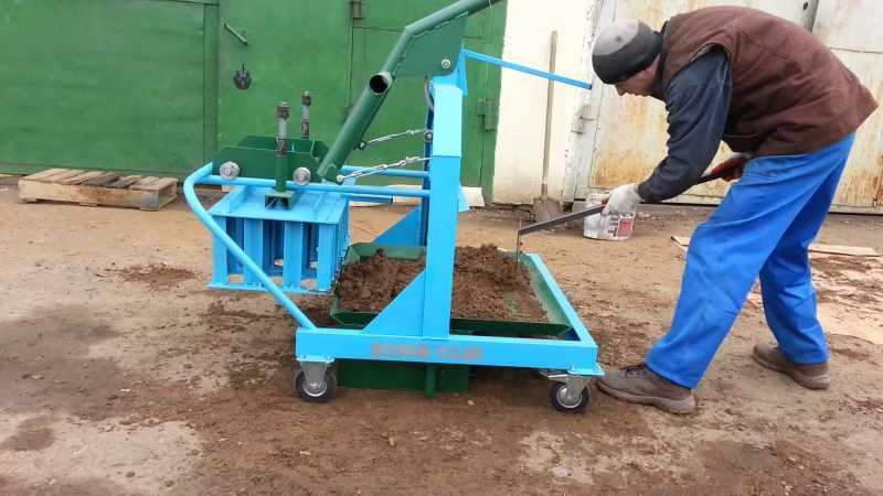 Вибростанок для производства шлакоблока