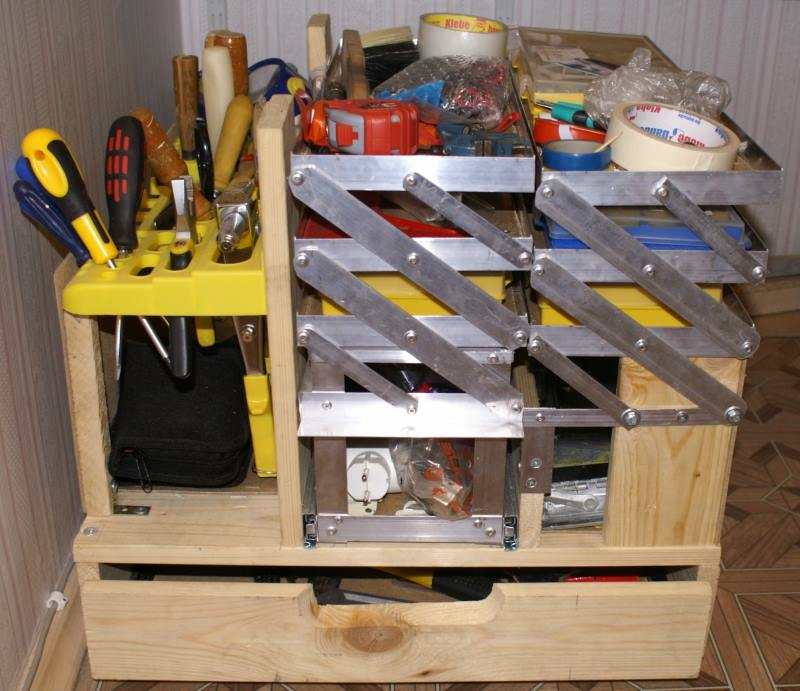Стационарный ящик для инструмента
