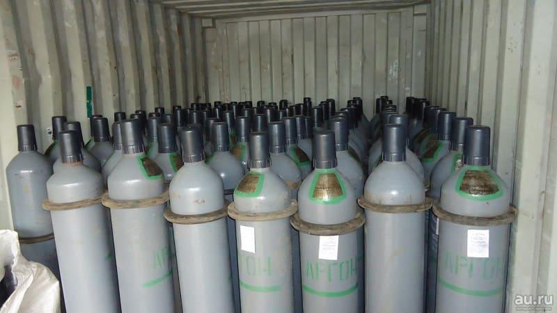 Инертный газ аргон