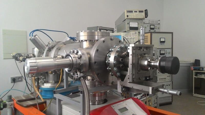Аппарат, получающий ионные пучки аргона